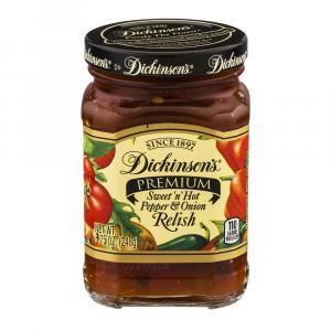 Dickinson's Sweet'n'Hot Pepper & Onion Relish