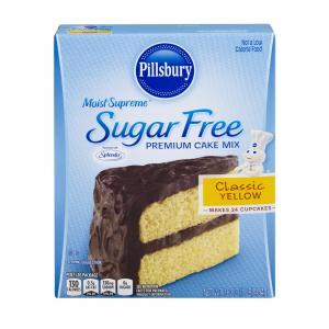 Pillsbury Moist Supreme Sugar Free Classic Yellow Cake Mix