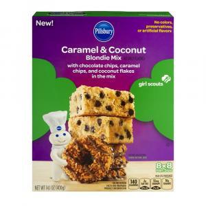Pillsbury Caramel & Coconut Blondie Mix