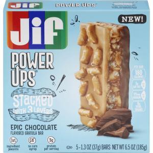 Jif Power Ups Chocolate Stacked Bar