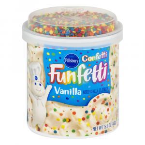 Pillsbury Confetti Frosting