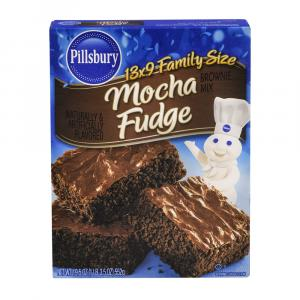 Pillsbury Mocha Fudge Brownie Mix