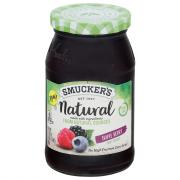 Smucker's Natural Triple Berry Fruit Spread
