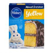 Pillsbury Yellow Cake Mix