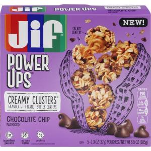 Jif Power Ups Chocolate Chip Creamy Clusters