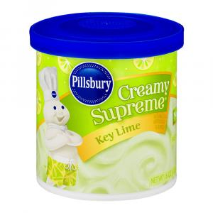 Pillsbury Creamy Supreme Key Lime Frosting