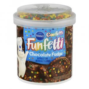Pillsbury Funfetti Chocolate Fudge Frosting