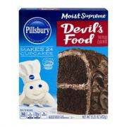 Pillsbury Moist Supreme Devils Food Cake Mix