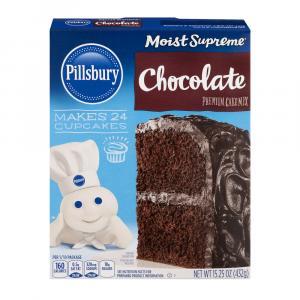Pillsbury Moist Supreme Chocolate Premium Cake Mix