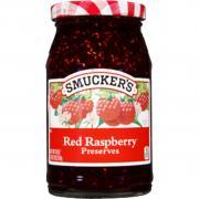 Smucker's Red Raspberry Preserves