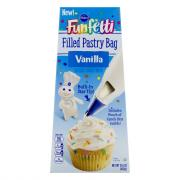 Pillbury Funfetti Vanilla Frosting Filled Pastry Bag