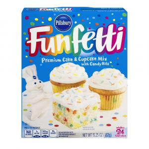 Pillsbury Funfetti Cake Mix