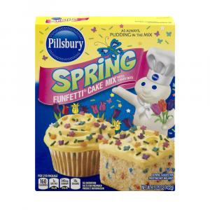Pillsbury Funfetti Spring Cake Mix