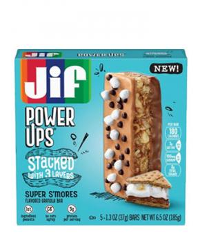 Jif Power Ups S'Mores Stacked Bar