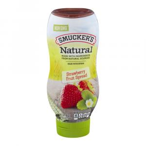 Smucker's Natural Strawberry Fruit Spread Squeeze Bottle