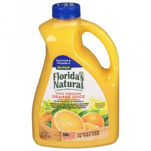 Florida's Natural No Pulp Orange Juice with Calcium