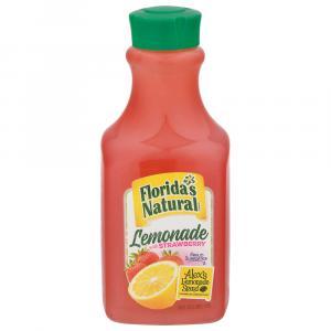 Florida's Natural Alex's Lemonade with Strawberry