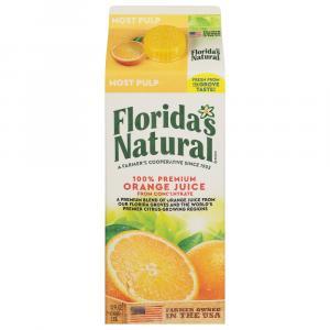 Florida's Natural Most Pulp Orange Juice