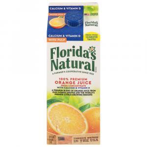 Florida's Natural Some Pulp Orange Juice with Calcium