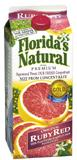 Florida's Natural Ruby Red Grapefruit Juice