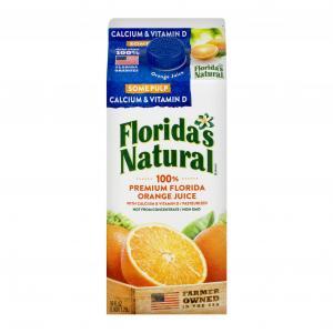 Florida's Natural Some Pulp Orange Juice W/calcium