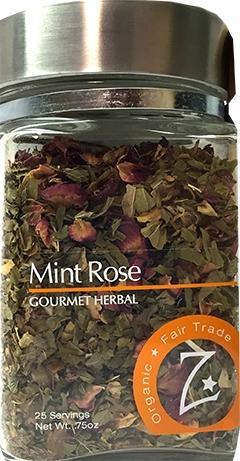 Zhena's Mint Rose Loose Tea