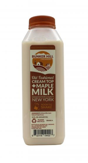 Bunker Hill Cream Top Maple Milk