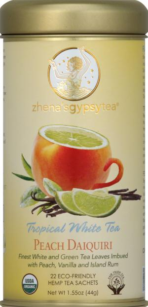 Zhena's Peach Daiquiri Tropical White Tea