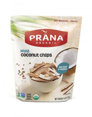 Prana Organic Sea Salt And Pepper Coconut Chips