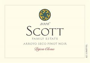 Scott Family Estate Pinot Noir