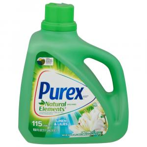 Purex Natural Elements Linen & Lillies Liquid Detergent