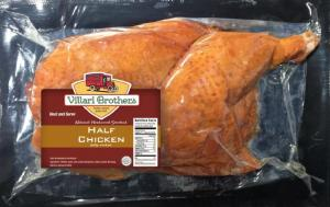 Villari Brothers Natural Hardwood Smoked Half Chicken