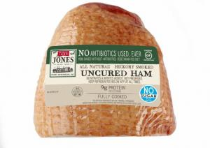 Jones Uncured Antibiotics Free Heritage Half Ham