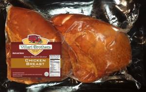 Villari Brothers Natural Hardwood Smoked Chicken Breast