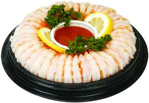 Medium Cooked Shrimp Ring