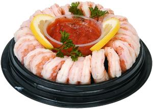 Small Cooked Shrimp Ring