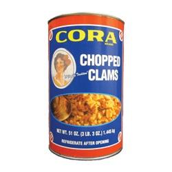Cora Chopped Clams