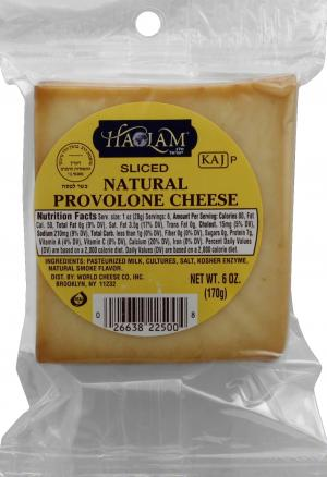 Haolam Sliced Natural Provolone Cheese