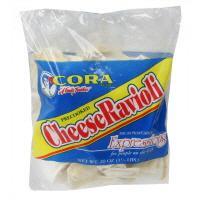 Cora Precooked Square Cheese Ravioli