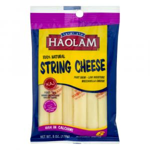 Haolam 100% Natural String Cheese