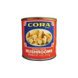Cora Mushrooms Pieces and Stems