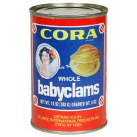 Cora Whole Baby Clams