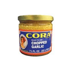 Cora Garlic Chopped in Water