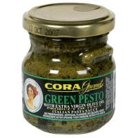 Cora Green Pesto with Extra Virgin Olive Oil Pasta Sauce