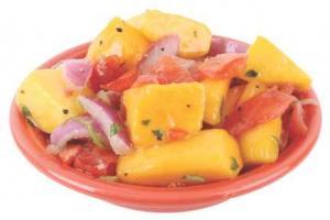 Mango And Roma Tomato Salad