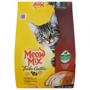 Meow Mix Tender Centers Salmon And Turkey