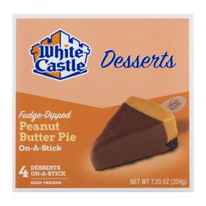 White Castle Peanut Butter Pie On-a-stick