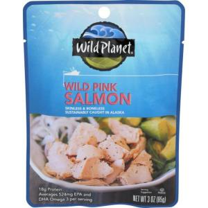 Wild Planet Wild Pink Salmon Pouch