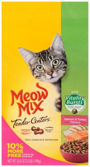 Meow Mix Tender Centers Vitality Burst Small