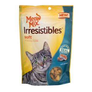 Meow Mix Irresistables Soft With Real Salmon